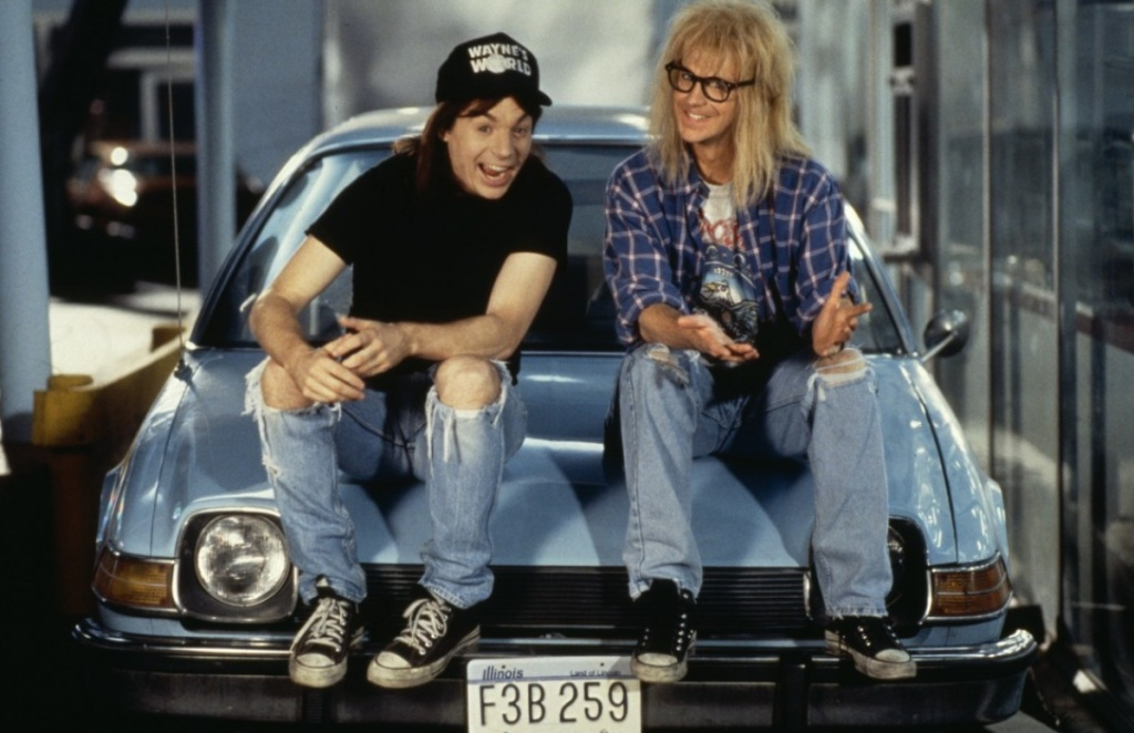Wayne's World with Live Cast Saturday, July 11!