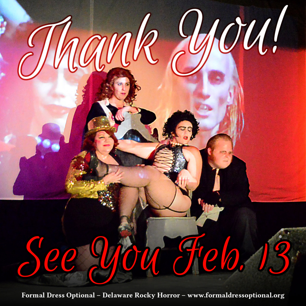 Thanks everyone! See you Feb. 13!