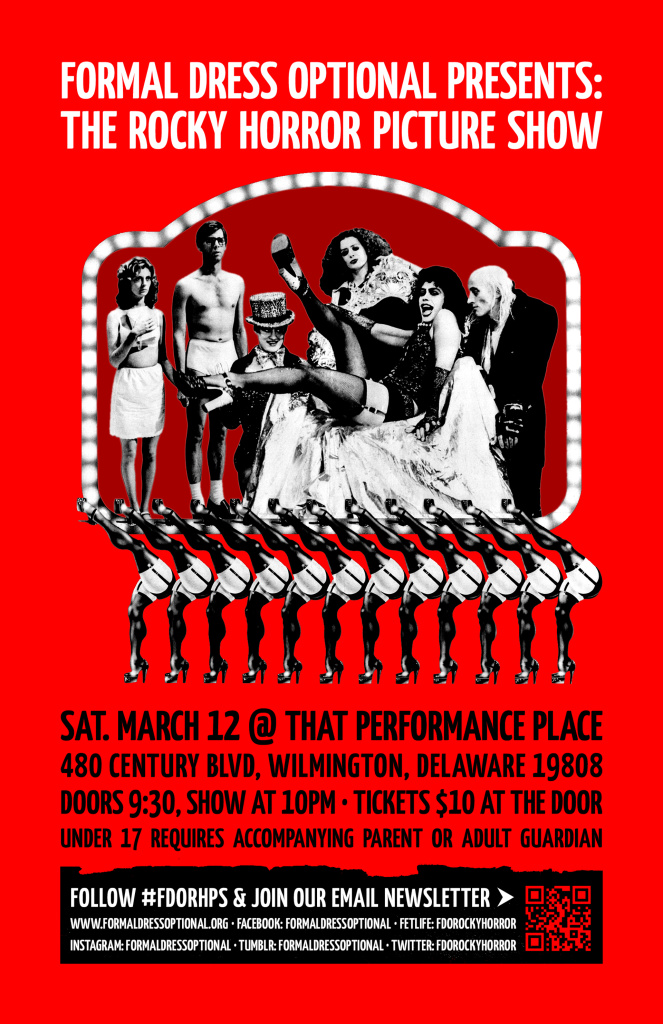 10PM Rocky Horror – March 12 @ That Performance Place